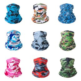 mesh veils UK - New Cotton Camouflage Tactical Mesh Scarf Sniper Face Veil Camping Hunting Multi Purpose Hiking Scarve#666