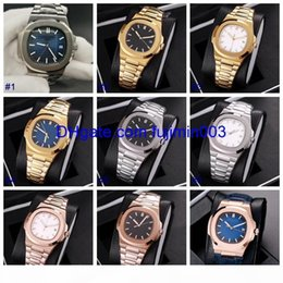 new model nude UK - E 14 Colors Hot Automatic Machinery 39mm Watch Mens Sweeping Movement Pp 5711 Self Wind Model No Battery Watches