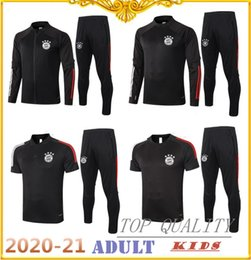 Wholesale polo tracksuit for sale – designer 2020 Bayern Munich football Tracksuit jacket training suit JAMES BOATENG MULLER LEWANDOWSKI football Sportswear polo shirt