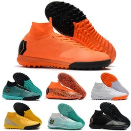 ic packs NZ - Bag Gift Mens Football Boots Euphoria Pack Superflyx 6 Elite Ic Tf Soccer Shoes Cr7 Mercurial Superfly Vi Neymar Indoor Turf Soccer Cleats