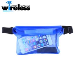 underwater case for iphone UK - Underwater Sports Bag 21.5*15cm Waterproof Big Waist Case Cover For iphone 8 7 6Samsung S8 Plus Note 5