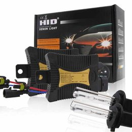 cars spare parts UK - Auto Ballasts Conversion Kit HID 9-16V 6A Replacement Accessories Spare Parts 2pcs 18*73mm 55W H7 Car New Headlight