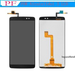 alcatel idol lcd UK - High Quality For Alcatel One Touch Idol 3 5.5inch 6045 OT6045 LCD Display Touch Screen Digitizer Assembly Original Replacement Parts