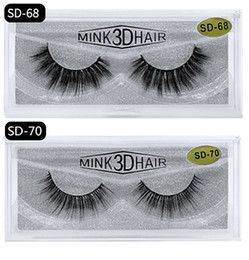 stem box UK - 15mm mink lashes Bright eyes Eyelash suitcase Soft Natural simulation False Eyelashes Eyelash box wholesale lot Curled and Slender Long