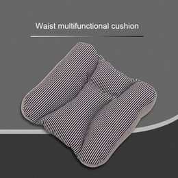 living room chairs home UK - Waistband Multifunction Cushion Living Room Chair Sofa Mat Decoration Modern Home Driving Knitting Rectangle Japanese Stripes glMF#
