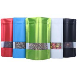 Venta al por mayor de Bolsa de almacenamiento de plástico Envasado de Alimentos de contenedores a prueba de olor bolsas de papel de aluminio sellado Auto Organizador Snack-transparente de la correa oblonga C2 54 8JH