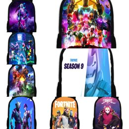 cartoon miku Australia - Miku Cosplay Student Rucksack School fortress night fortnite Shoulder Bag Laptop Travel Backpack Dayback Gift OZdDf