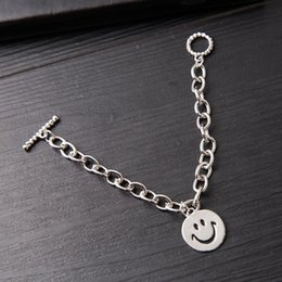 inspire bracelets NZ - Korean Style Cool Trendy Female All-match Cute Smiley Face Bracelet Fashion Net Red Celebrity Inspired Bracelet Jewelry Jewelry