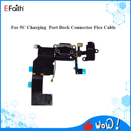 Wholesale iphone 5c charging port for sale - Group buy New Charger Charging Port USB Dock Connector replacement For iPhone C Headphone Audio Jack Flex Cable Repair Parts