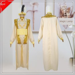 Wholesale comic cosplay costumes for sale - Group buy yu4Zu Star clothing comic edge night cosplay Aladdin and magic lamp cos animation costume Star clothing comic edge night cosplay Al