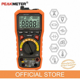 temperature tester Australia - PEAKMETER PM8229 5 in 1 Auto Digital Multimeter With Multi-function Lux Sound Level Frequency Temperature Humidity Tester Meter cLb3#