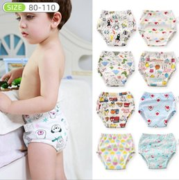 Baby Diapers Children Diaper Nappies Cloth Elastic Training Pants 6 Layers Gauze Infant Washable Cloth Diaper Panties Reusable LSK419 on Sale