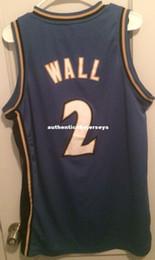Wholesale sleeveless zip vest resale online - Cheap John Wall Jersey Men Sewn AD Beal Arenas T shirt vest Stitched Basketball jerseys Ncaa