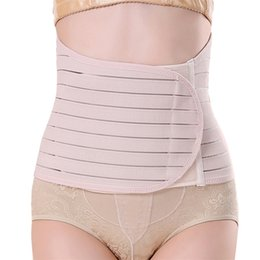band belts UK - Maternity Postnatal Multi-row Buckle Belt 2020 New Pregnancy Bandage Belly Band Waist Corset Pregnant Control Slimming Belt