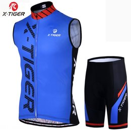 l x l clothing Australia - X-TIGER suit men's outdoor sports cycling shorts Outdoor sports Bicycle bicycle quick-drying sleeveless cycling clothes