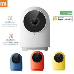 Xiaomi Aqara g2h Smart Camera 1080p HD Night Vision mobile HomeKit APP monitoramento de câmeras G2 H ZigBee Smart Home Security em Promoção