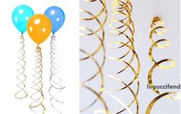 ceiling lights heart UK - Festive 6pc pack Ceiling Hanging Swirl Decoration Metallic For Wedding Christmas Halloween Birthday Party Decoration Baby Shower Boy