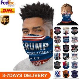 EEUU Stock ciclismo Máscaras bufanda unisex del pañuelo de la motocicleta magia bufandas careta Pañuelo de cuello de la mascarilla al aire libre Trump elecciones 2020 en venta