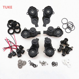 servo motors kit Canada - TUKE 10 Set 12 Torx Rear Wheel Hand Brake Cylinder Caliper Servo Motor + Screw Repair Kits & Plug For Q5 A5 A4 32335478 32326315 82BR#