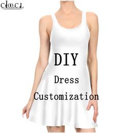 Seksi Elbise Kadınlar 3D DIY özelleştirme Kişiselleştirilmiş Tasarım Pileli Elbise Kendi Resim / Fotoğraf / Yıldız / Şarkıcı / Anime Bayanlar Günlük Elbise yazdır