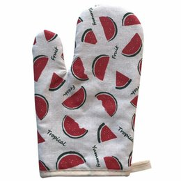 high temperature kitchen gloves NZ - Thick Microwave Oven Gloves For Kitchen Cooking Bake Outdoor Barbecue Grill Use Protective Gloves High-temperature hot insulation gloves