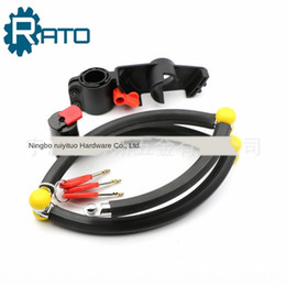 car hydraulics UK - Mountain bike anti-theft anti-drilling anti-hydraulic vehicle electric vehicle anti-scissor key electric car four-section joint lock