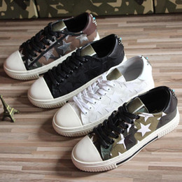 star canvas shoe for men Australia - 2020 new luxury star shoes lace-up Joker Camo casual board sneakers low shoes for men and women couples shoes