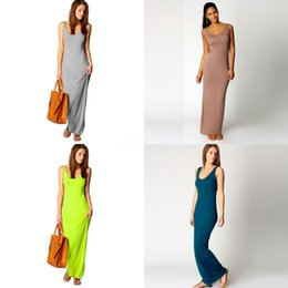 stylish maxi dresses sleeves UK - Women Summer Dresses Sleeveless Clothes Stylish Maxi Dress Casual Long Dress Short Sleeve Backless Lady Party Clothing Drop Ship#879