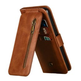 Wholesale For Xiaomi Mi A3 Case Zipper Flip Cover Multifunction Card Slot Wallet for Funda Xiaomi Mi A3 Phone Case Mi A A Funda MiA3