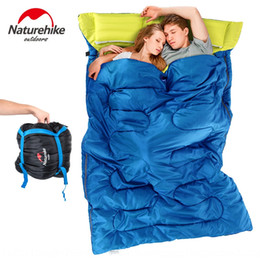 sleeping bags double winter Canada - Cxabf NH nuoke double sleeping bag adult outdoor camping spring summer autumn and winter Four Sleeping bag tent tent Seasons office indoor l
