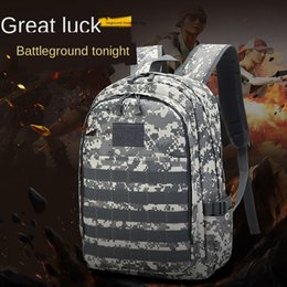 chicken spring Canada - Jedi survival eat chicken three-level Mountaineering Sports backpack camouflage waterproof tactics 3D backpack