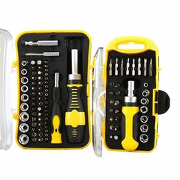 tools computer kit Canada - Screwdriver Bit Set Precision Screw Driver Keys Sleeve 30 65 PCS Disassemble For Computer Laptop PC Electronic Repair Tools Kit topV#