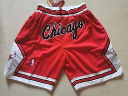 Hot Sale Männer Top-Gerade Don Red Retro Jersey Shorts im Angebot