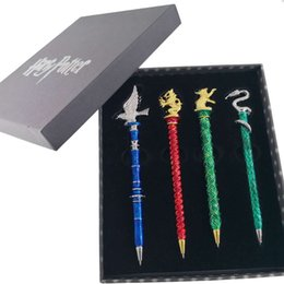 Wholesale Harry botter Harry's Wand Pen Magic pen Hogwarts Stationery Set 4pcs Perfect For School, Work, Christmas or Birthdays