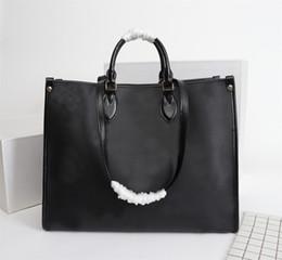 Nouveau Sac fourre-tout en cuir pleine sac fourre-tout de haute qualité embossage sac à main sacs de femmes Sac à bandoulière en Solde