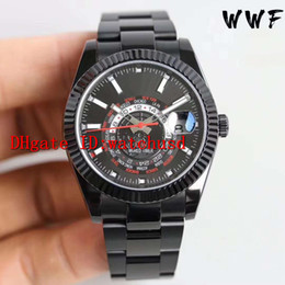 stainless steel display case Australia - WW Factory Stainless Steel Casual Watch Date display Luminous Mens Watches Sapphire Aerodyne Dual Time Zone Automatic Watch Solid Case Back