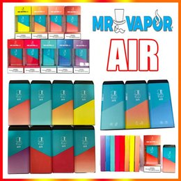 vapor vape Australia - MR VAPOR AIR Disposable Device Pod Starter Kit 500puffs 350mAh Battery 3ml Empty Cartridge VS Plus Air Bar Disposable Vape Pens