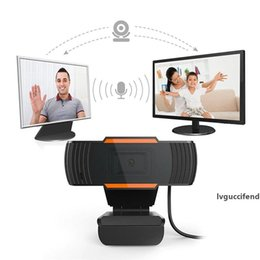 laptop live UK - Webcam Web Camera Full HD 720P Camera Built-in Microphone USB 2.0 Auto Focus For Computer PC Laptop Live Video Game Meeting