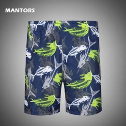 Wholesale slim board shorts for sale - Group buy Men s Print Board Shorts Quick Dry Beach Shorts Swim Trunks Summer Male Bikini Swimwear Surfing Men Slim Short Pants
