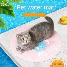 pad carriers NZ - 2020 cooling new pet summer cool nest gel seat Dog pad Seat ice pad cushion heat dissipation cat dog mat ice mat