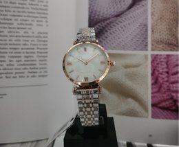 new model nude UK - New model Fashion Women watch With diamond 316L Stainless steel Lady Luxury wristwatch table Clock Quartz Relojes De Marca Mujer Watches