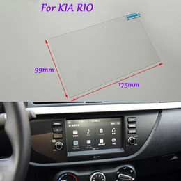 gps kia rio UK - Internal Accessories For KIA RIO Car GPS Navigation Screen Glass Clear Protective Film 8 inch