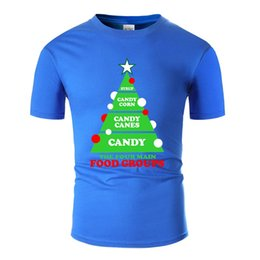 food t shirts Australia - Christmas Candy The Four Main Food Groups Tshirt Man Letter Hilarious Black Comics T Shirts 2020 Oversize S-5xl Tee Top
