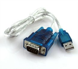 laptops serial ports UK - Lowest price! USB to RS232 adapter COM Port Serial PDA 9 pin DB9 Cable Adapter Support Windows7 64