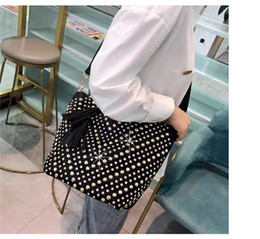 ladies rhinestone handbags Canada - Hot sale soft Tassel Bag Diamond Large Capacity Handbag one Shoulder Bag Female Casual Messenger Rhinestone Ladies 2020 high quality
