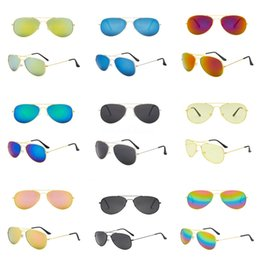 popular glass metal UK - Ig Frame Sunglasses Popular Wind Cycling Mirror Sport Outdoor Eyewear Goggles Sunglasses For Men Women Driving Sunglasses 9 Colors#266
