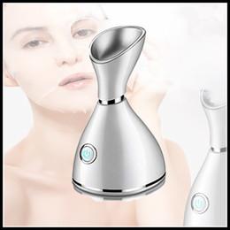 Опт Запас на акций Nano Deep Cleanial Чистящее средство для лица Лицо для лица для лица, горячее пароварку для лица красавицы на пару паромное устройство для лица.