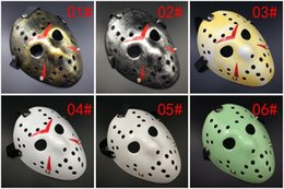 friday 13th jason mask UK - Archaistic Jason Mask Full Face Antique Killer Mask Jason vs Friday The 13th Prop Horror Hockey Halloween Costume Cosplay Mask in stock