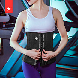 female restraint belt 2021 - Fitness Corset Shaping Breathable Abdomen Belt Female Sports Training Waist Restraint Rib Valgus