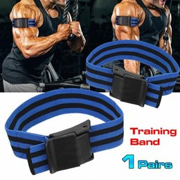 1 Pair Blood Flow Block Training Belt Gym Home Workout Fitness Exercise Equipment Wightlifting Blood Flow Restriction Bands X77e# on Sale